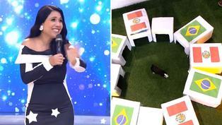 Tula Rodríguez hace singular pedido al ver que cuy pronostica a Brasil como ganador sobre Perú