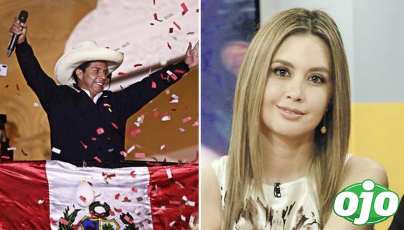 Jessica Tapia en contra de Pedro Castillo. Foto: (redes sociales)