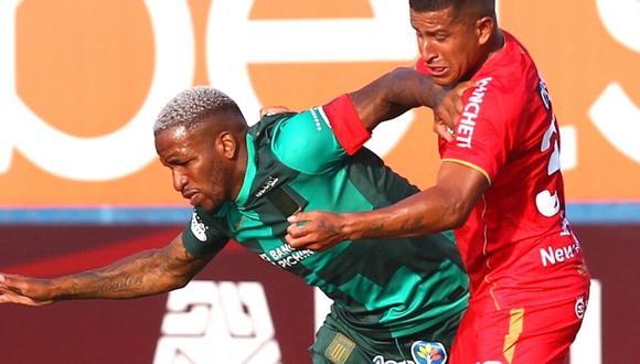 Jefferson Farfán lleva un gol en su regreso a Alianza Lima.  (Foto: LFP)