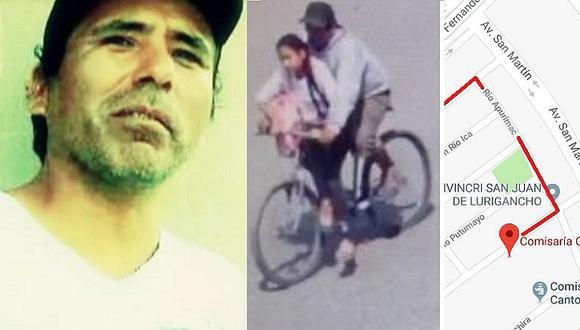 La ruta por donde César Alva Mendoza se llevó a niña de 11 años en SJL (VIDEO)