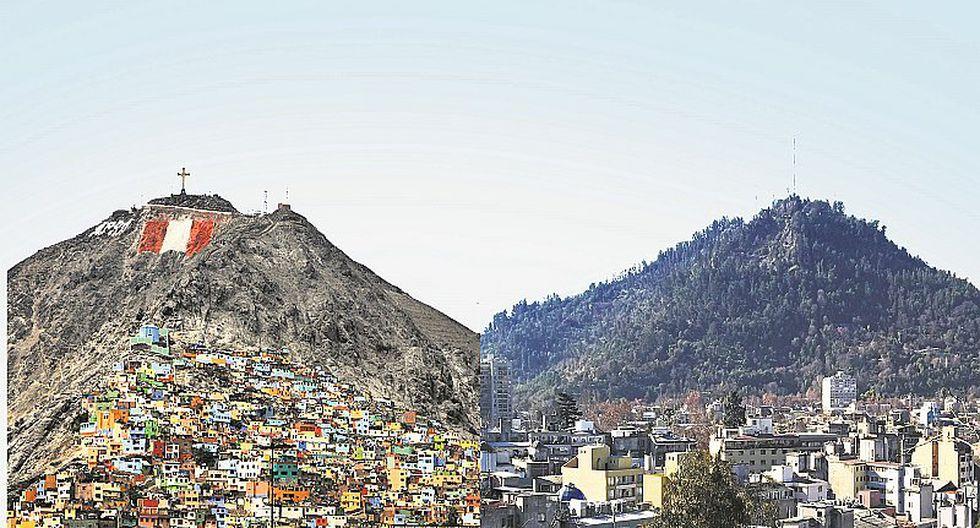 Chile también tiene su Cerro San Cristóbal, pero otra es la historia (FOTOS)