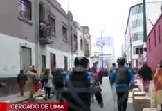 Cercado de Lima: retiran a ambulantes de los alrededores de Mesa Redonda | VIDEO