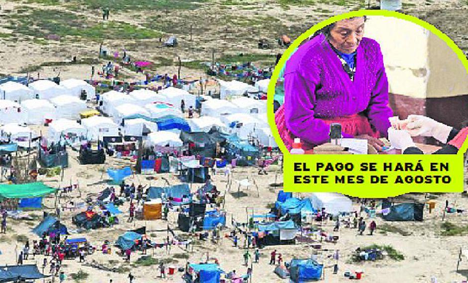 El Niño Costero: entregarán bono a beneficiarios de Pensión 65 en 14 regiones