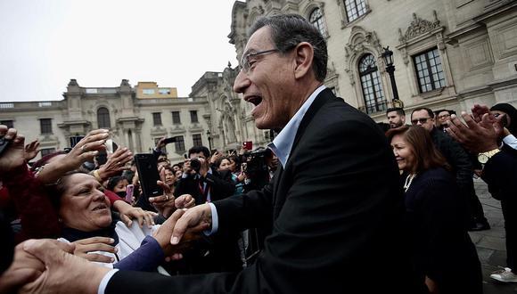 """Cuestión de confianza: Ollanta Humala dice que Vizcarra """"dio un paso importante"""""""