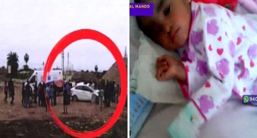 Un padre denuncia que hija quedó grave tras accidente en vía peligrosa de la Panamericana Sur | VÍDEO