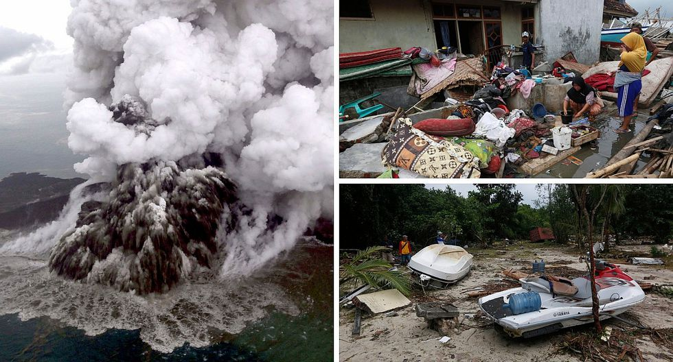 Elevan a 429 los muertos en el tsunami de Indonesia (FOTOS)