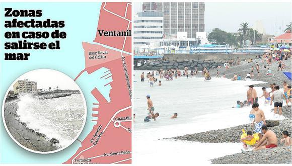 Estas son las zonas vulnerables en Lima y Callao en caso de terremoto y tsunami