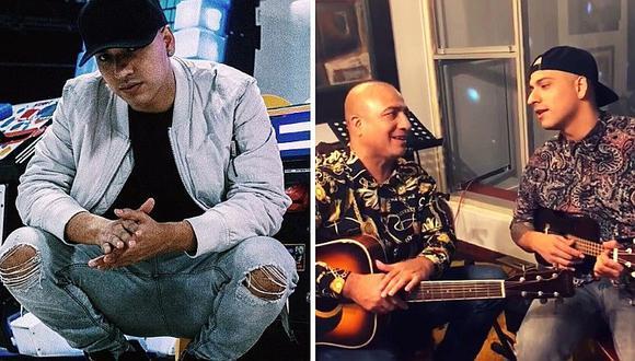 Piero Gaitán García celebra Navidad en libertad y canta tema inédito junto a su padre Rodolfo Gaitán Castro (VIDEO)