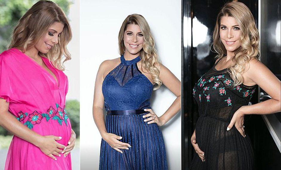 Viviana Rivasplata comparte imágenes de su embarazo a poco de dar a luz (FOTOS)