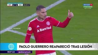 Paolo Guerrero arrancó de titular en su vuelta al 'verde' con Inter