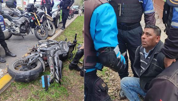El detenido registra un amplio prontuario policial por delitos contra el patrimonio, robo, entre otros. Foto: Municipalidad de Magdalena del Mar
