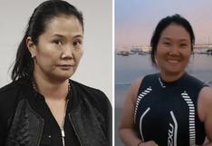 Keiko Fujimori se muestra contenta nadando en conocida playa de Chorrillos, tras obtener su libertad | VIDEO