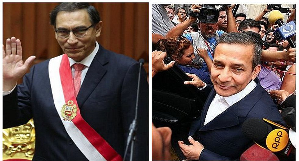 Ollanta Humala le envía consejo a Martín Vizcarra tras asumir la presidencia