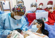 Felipe, el primer bebé del Bicentenario que llegó al mundo con la canción 'Contigo Perú'