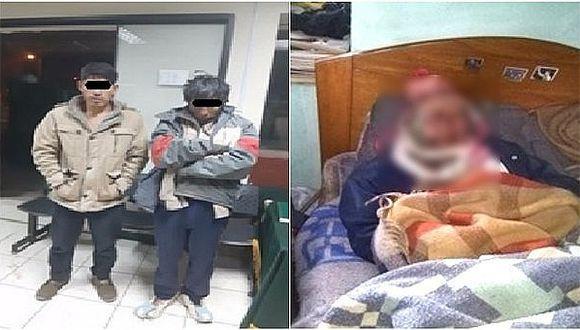 Abuelito murió tras cobarde agresión de sus propios hijos