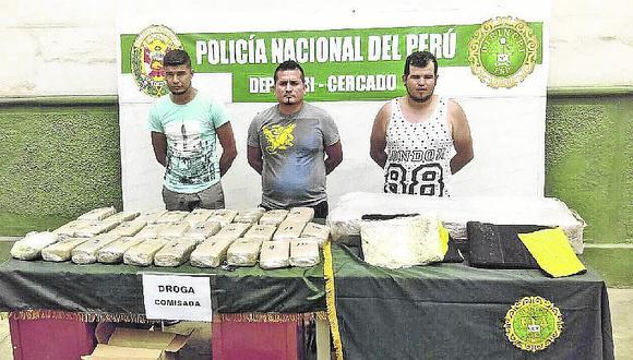 La Policía da duro golpe al narcotráfico