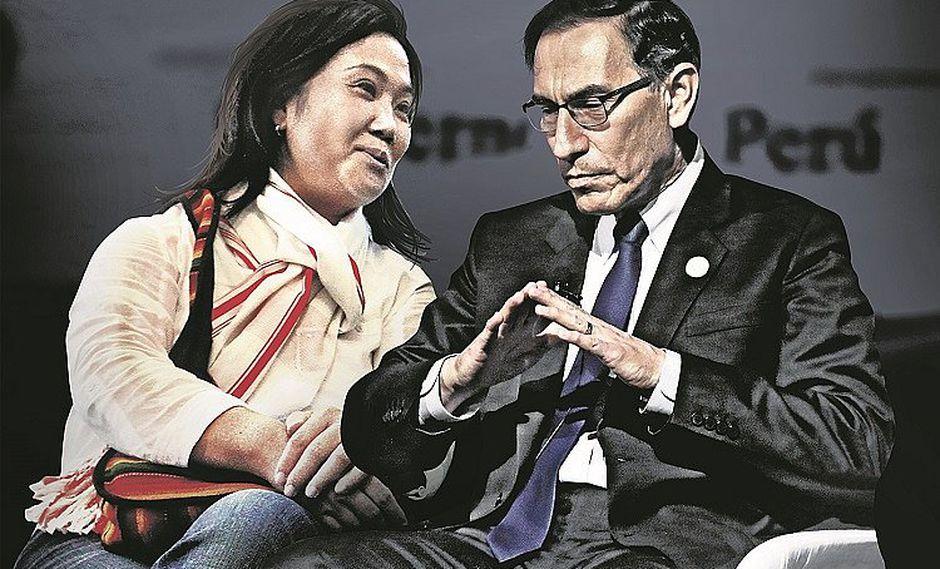 Martín Vizcarra y Keiko Fujimori se citaron a escondidas y todo terminó en bronca