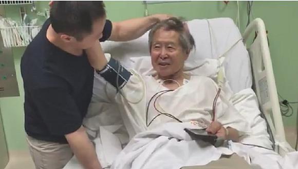 Alberto Fujimori y su reacción al enterarse del indulto dado por PPK (VIDEO)