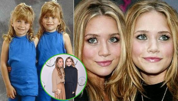 La irreconocible apariencia de las gemelas Olsen en los medios (FOTOS)