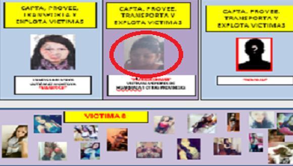 Identifican a captadora de organización criminal de 'La bestia'