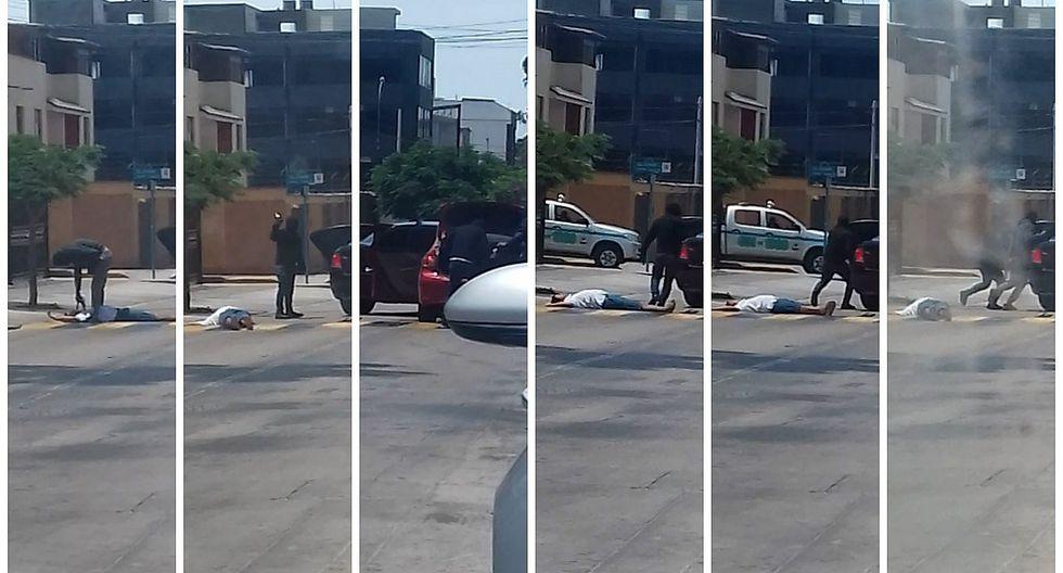 Delincuentes roban S/. 100 mil a cambista en San Borja pese a presencia de serenazgo