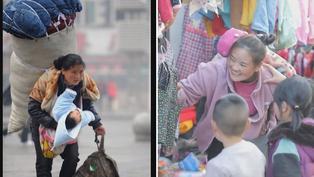 Fotografía de una madre con su niña en brazos dio vuelta al mundo: 11 años después, descubrieron de quién se trataba