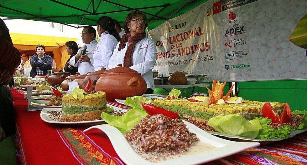 Magdalena: Vecinos celebran Día Nacional de los Granos Andinos con feria gastronómica