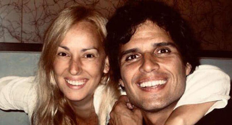 Pedro Suárez y su esposa