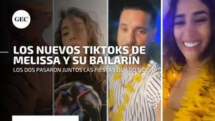 """Las coquetas coreografías que Melissa Paredes subía a TikTok con su bailarín de """"Reinas del Show"""""""