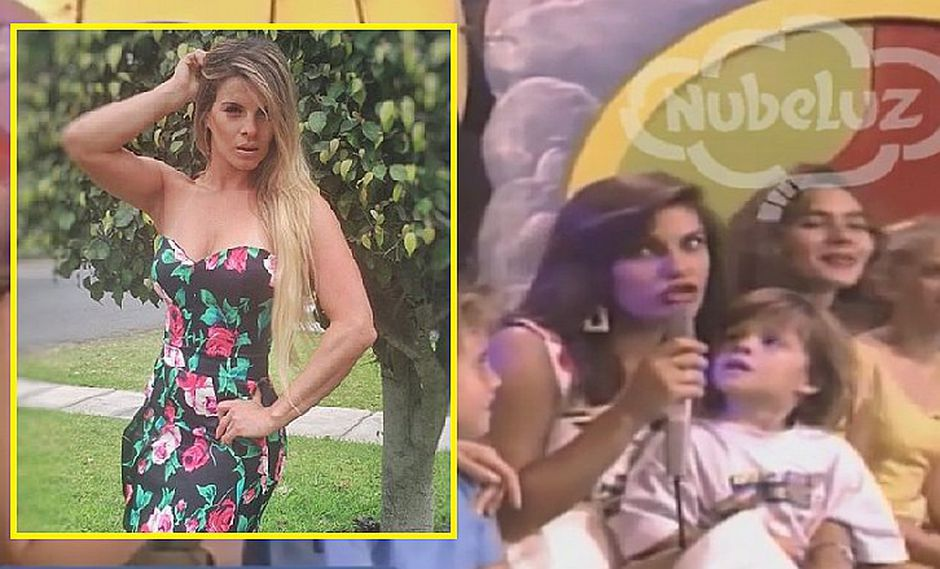 """Alejandra Baigorria y su aparición en """"Nubeluz"""" cuando era una niña (VIDEO)"""