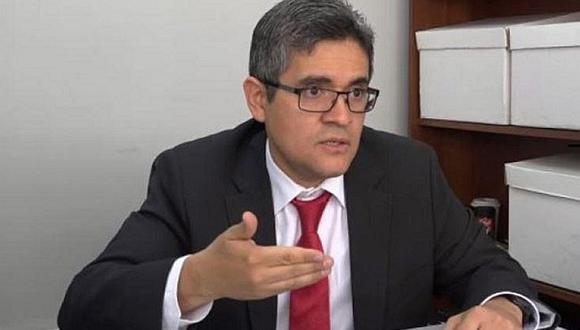 Fiscal anticorrupción José Domingo Pérez denunció que intentaron forzar la cerradura de su vivienda