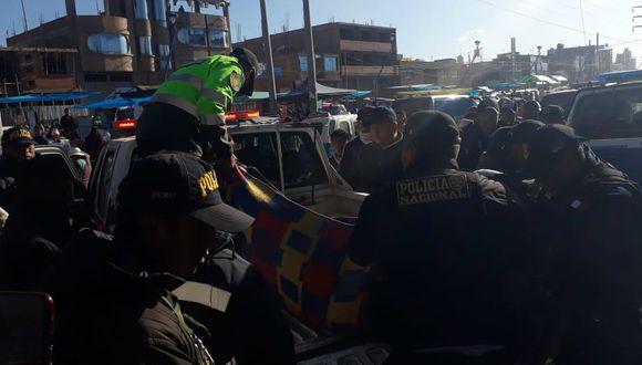 Puno: Comerciante muere en accidente de tránsito, en Juliaca; mientras su hermano está grave (GEC)