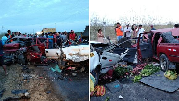 Accidente en Piura deja 4 muertos y 6 heridos (VIDEO)
