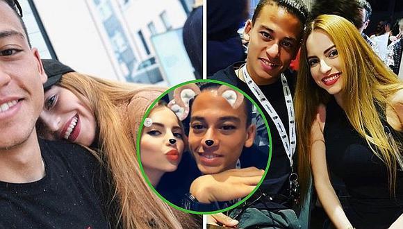 Difunden foto de Cristian Benavente visitando a los padres de su novia