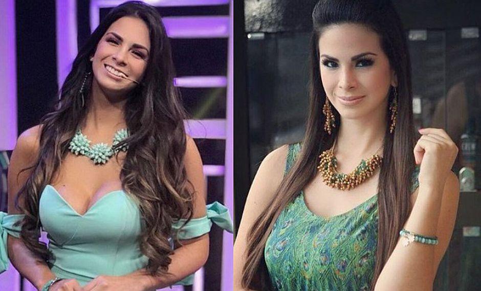 Sully Sáenz conquista set de televisión con sexy enterizo
