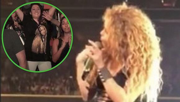 Shakira se emociona y muestra el gesto que tuvo fan peruana con ella (FOTO)