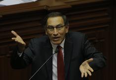 """Martín Vizcarra: """"Si mañana se decide su inhabilitación, no podrá ejercer como congresista"""", dice presidenta del Congreso"""