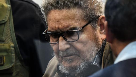Abimael Guzmán cumple cadena perpetua por el delito de terrorismo. (Foto: Archivo GEC)