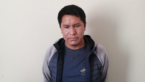 Arequipa: los agentes policiales se constituyeron en el punto de encuentro y detuvieron al depravado.