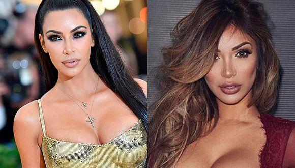 Kim Kardashian y Paula Manzanal posaron semidesnudas [FOTOS]