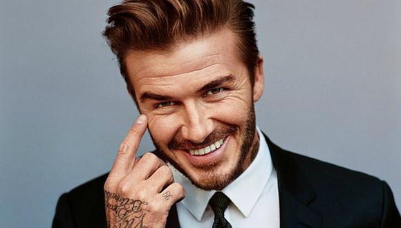 David Beckham es el primer hombre en incursionar en belleza