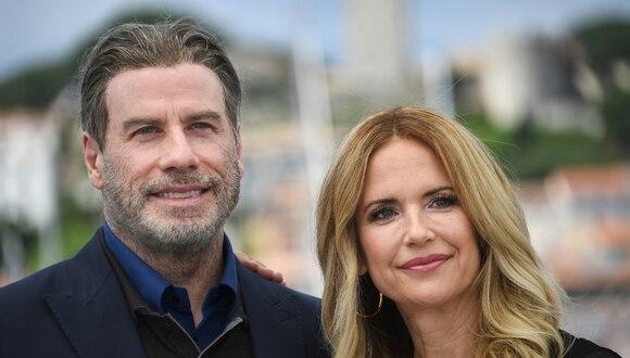 John Travolta y Kelly Preston se casaron en 1991 y tuvieron tres hijos. (AFP).