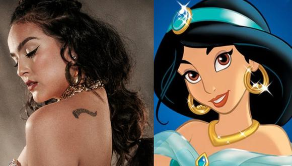 Salsera Daniela Darcourt mostró ser gran fanática de las princesas de Disney. (Instagram)