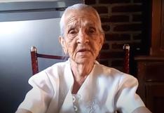 Abuelita de 87 años pide ayuda para que vean sus videos y pueda sobrevivir   VIDEO