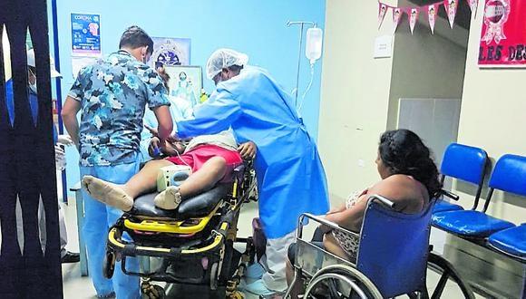 Lambayeque: las personas lesionadas fueron trasladadas al hospital EsSalud de Cayaltí, donde falleció el varón de 30 años. (Foto: GEC)
