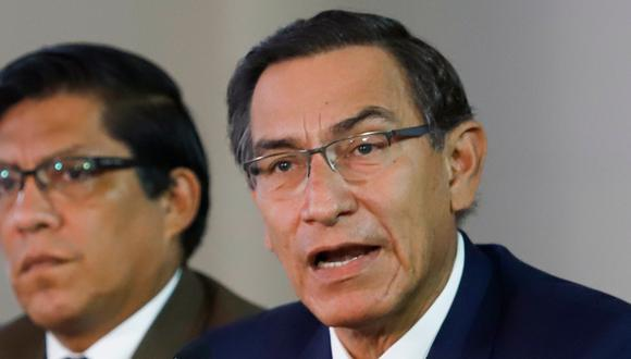 Hoy Martín Vizcarra desde las 12:00 horas brindará conferencia de prensa en Palacio de Gobierno