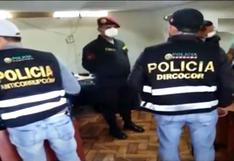 Cuatro policías acusados de pedir coima de S/ 2 mil a supuesto requisitoriado | VIDEO