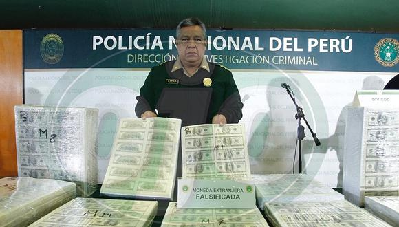 Policía encuentra taller clandestino donde hicieron 20 millones de dólares falsos │FOTOS