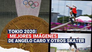 Tokio 2020: Disfruta las mejores imágenes de Angelo Caro y otros skater