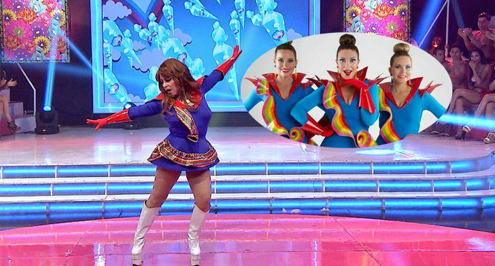 Monique Pardo imita a Almendra Gomelsky y canta este tema de 'Nubeluz' [VIDEO]